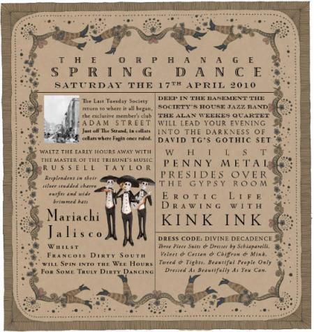 Orphanage Spring Dance